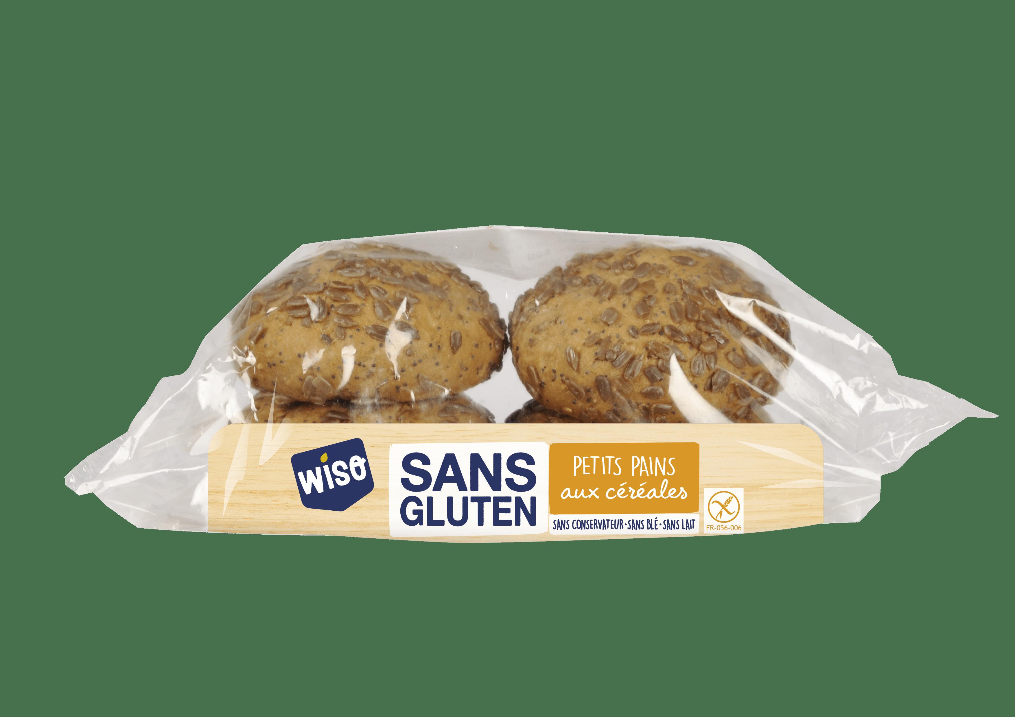 Petits pains aux céréales sans gluten